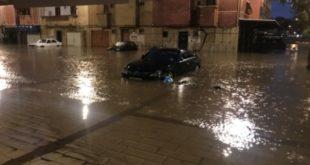 المياه تحاصر ساكنة حي السدري بمدينة الدار البيضاء