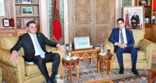 السيد ناصر بوريطة يستقبل رئيس حكومة الوحدة الوطنية الليبية