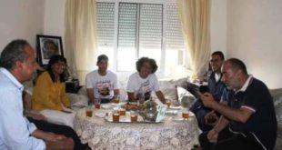 في يوم العيد قافلة تضامنية مع عائلات المعتقلين
