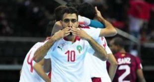 المنتخب المغربي للفوتصال يصل دور ربع كأس العالم