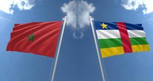 رئيس جمهورية إفريقيا الوسطى يستقبل السفير هلال
